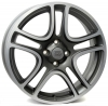 FIAT W160 ERATO MATT GREY POLISHED R16 W6 PCD4x100 ET45 DIA56,6
