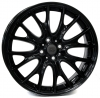 MINI W1653 RIVERS GLOSSY BLACK R18 W7 PCD4x100 ET52 DIA56,1