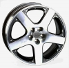 VOLKSWAGEN W430 SORRENTO Anthracite Polished R16 W7 PCD5x100 ET38 DIA57,1