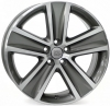 VOLKSWAGEN W463 CROSS POLO Anthracite Polished R16 W7 PCD5x100 ET46 DIA57,1