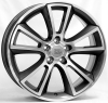 OPEL W2504 MOON Anthracite Polished R18 W8 PCD5x110 ET43 DIA65,1