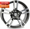 PORSCHE W1054 SATURN Anthracite Polished R20 W11 PCD5x130 ET68 DIA71,6